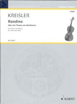 GYS00072208 クライスラー : ベートーヴェンの主題によるロンディーノ【楽譜】【メール便を選択の場合送料無料】