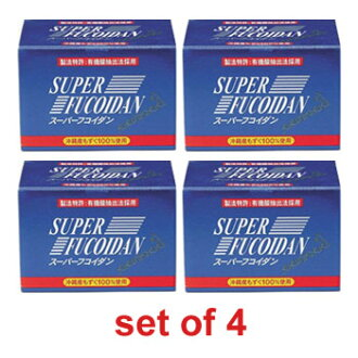Super Fucoidan (set of 4)