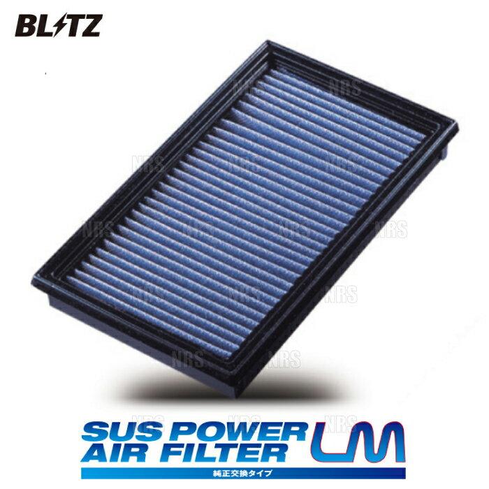 吸気系パーツ, エアクリーナー・エアフィルター BLITZ LM (SA-320B) MAZDA2 DJ5FSDJ5AS S5-DPTSS5-DPTR 199 (59616