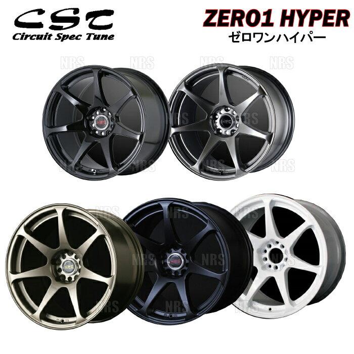 タイヤ・ホイール, ホイール DOALL CST ZERO-1 HYPER 9J x 18 30 PCD114.3-5H 4 (CSTH-91830-BR-4S
