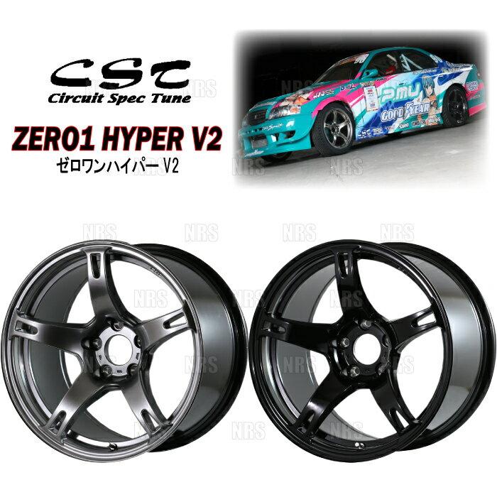 タイヤ・ホイール, ホイール DOALL CST ZERO-1 HYPER V2() 9.5J x 18 0 PCD114.3-5H 2 (CSTHV2-95180-MS-2S