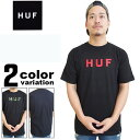 【huf tシャツ】 HUF (ハフ) Tシャツ 半袖 ORIGINAL LOGO TEE [TS54004] 【huf tシャツ メンズ ハフ tシャツ ストリート メンズ ファッション 大きいサイズ 2016年春夏新作 】【あす楽対応】