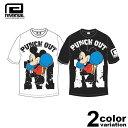 リバーサル REVERSAL Tシャツ 半袖 Mickey Mouse / BOXING TEE (reversal tシャツ ミッキー コラボ ホワイト ブラック rvMKY14aw003 ストリート)