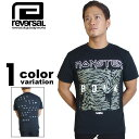 【リバーサル tシャツ】 REVERSAL × MONSTER ROCK MONSTER BITE TEE (1色) [T479] 【リバーサル tシャツ reversal REVERSAL メンズ トップス 大きいサイズ 2016年新作 】【あす楽対応】