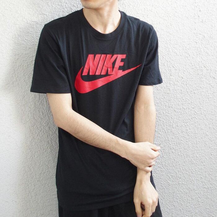 NIKE ナイキ Tシャツ FUTURA ICON TEE 半袖 Tシャツ メンズ レディース 黒 ブラック ロゴt [696708] 【あす楽対応】 【メール便対応】