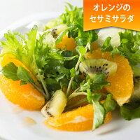 オレンジのセサミサラダ