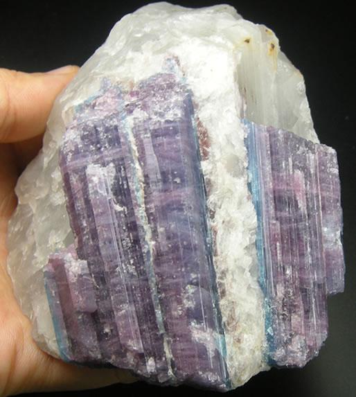 パライバトルマリン 天然石 パワーストーン para012:ラベンダーストーン