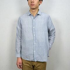 YAECA(ヤエカ)【13 AW】【送料無料】YAECA(ヤエカ)/ Standard Wide Fit Long -BLUE STRIPE-