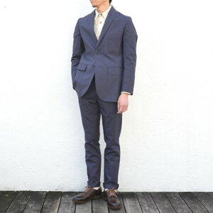 S.E.H KELLY(エス・イー・エイチ・ケリー)/ NORTHERN IRISH SHOWER-PROOF COTTON SB2 JACKET -(39)NAVY-