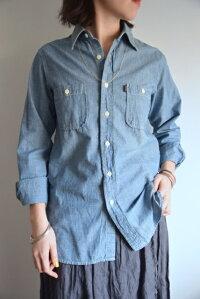chimala(チマラ)/ChambrayWorkShirtシャンブレーワークシャツ
