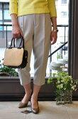 beautiful people(ビューティフルピープル) / ワンタックパンツ w.rever one-tuck pants (2色展開)