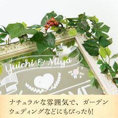 グレープアイビーの装花