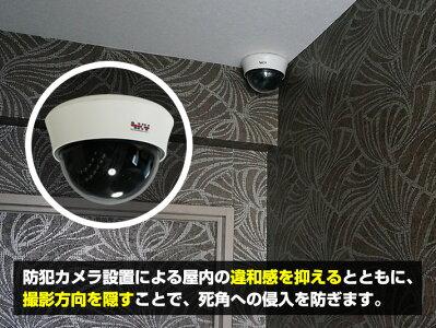 200万画素ドーム型防犯カメラ
