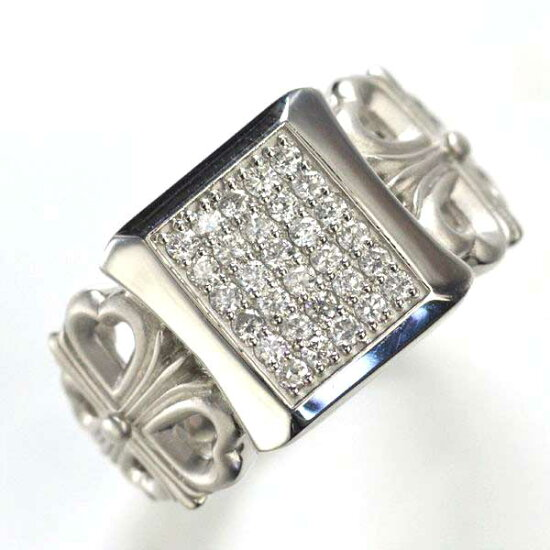 Pt900 ダイヤモンド メンズリング 指輪/