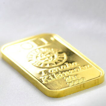 インゴット純金K2420gゴールドバー/送料無料