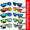 【送料無料】 サングラス ACウェリントン型 ミラーサングラスが激安価格メンズ レディース 大流行のミラーレンズタイプウェイファーラー ウェリントン タイプUV 紫外線 99% カットレンズ
