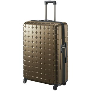 【SALE】スーツケース Lサイズ プロテカ/PROTECA 360sメタリック 85リットル 日本製 1週間〜10泊程度の近場の旅行に ベアリング搭載!サイレントキャスター キャリーケース キャリ