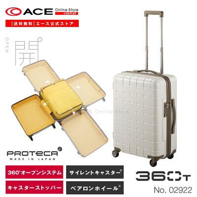 人気のかわいいスーツケースおすすめPROTECA 360t