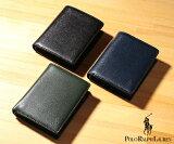 ★ラルフローレン 財布 メンズ エンボスENBOSS ベラ付 2つ折り財布[P-1042 Orin](Polo Ralph Lauren)【ウォレット 二つ折り財布 メンズ ギフト】
