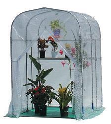 グリーンハウス NH-5(0.5坪)(入口ファスナー式)特殊糸入りビニールで、強度・保温力抜群!室...