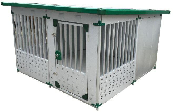 ドッグハウス(スチール製)DFD-2 (床なし)(1坪タイプ)【代金引換不可】 【決算処分価格】【スチール 大型犬 犬小屋】【スーパーSALE】05P03Dec16:ホームセンターエース