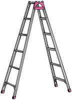 Pica(ピカ)アルミ脚立(1.8m)(MCX-180) 脚立とはしごの1台2役数量限定!激安!高...