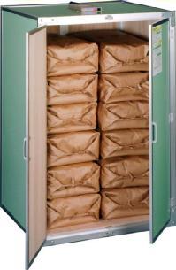 (除湿換気ファン付き)総桐米収納庫6型【送料無料】除湿やカビ、ネズミの害からお米を守る総桐天然木の米収納庫