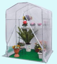 グリーンハウス(NBG-5型)(0.5坪)(入口ファスナー式)特殊糸入りビニールで、強度・保温力抜群...