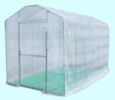 グリーンハウス(NBG-20D型)(2坪)(入口扉式)室外温室 02P06Apr11