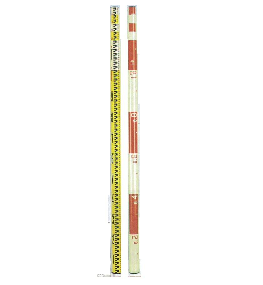 宣真工業 測量シリーズ グラスファイバースタッフ 205-3   外壁測量工具