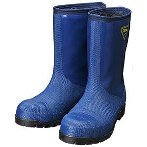 シバタ工業 SHIBATA 冷蔵庫長靴 NR021 冷蔵庫長-40℃(ネイビー)  各サイズ