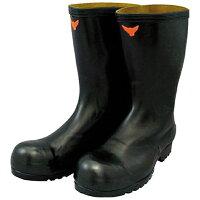 シバタ工業 SHIBATA 安全耐油長靴 黒 SB021
