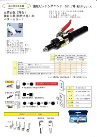 西田製作所NC-M-CD150Aマルチパワーツール端子圧着ヘッドセット