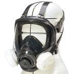 重松製作所(シゲマツ) ナノマテリアル用防じんマスク DR168T4(M) 10個セット 全面形タイプ
