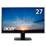 【フレームレスで画面広々!】モニター HDMI 27インチ スピーカー内蔵 パソコン(PC)モニター VAパネル VESA対応 液晶ディスプレイ 27インチ Acer(エイサー) ゲーミング KA270HAbmidx 新品 PS4 ゲーム 中古より安い