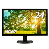 【24インチモニターなら迷わずこれ!】Acer パソコン(PC)モニター フルHD 液晶モニター ディスプレイ エイサー K242HLbid 5ms HDMI端子 VESA FPS ゲーミング ゲーム PCモニター PCディスプレイ 新品 PS4
