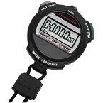 山佐時計計器 ストップウォッチ TEV-4013Y ブラック(BK) [1/100秒計測 ラップタイム計測 スプリットタイム計測 カウントダウン機能]