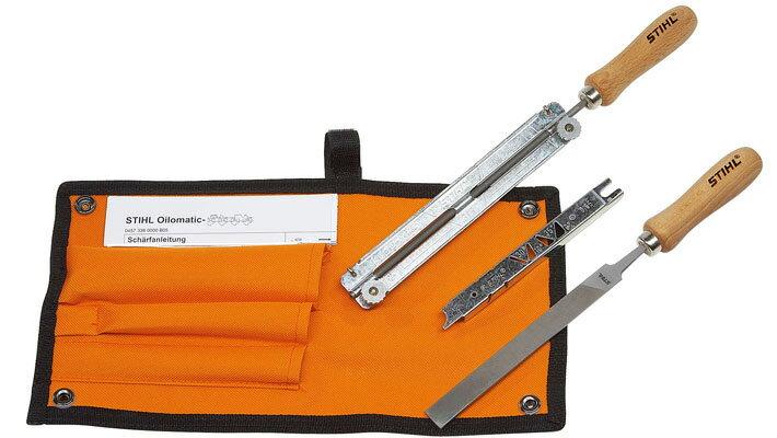 STIHL(スチール) シャープニングキット 1/4&3/8P用 No.56050071027 チェンソー メンテナンス工具