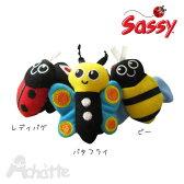 【Sassy】サッシー チャームバンド <レディバグ、バタフライ、ビー> .