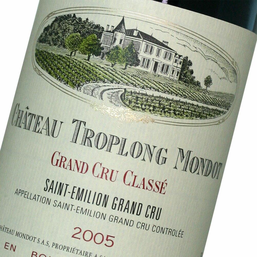 ワイン, 赤ワイン 2000 WA 96Chateau Troplong Mondot