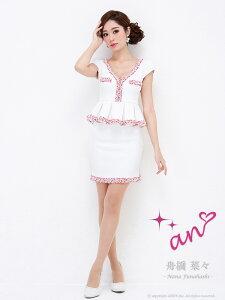 anドレス【AOC-2146】ANミニドレスキャバドレスキャバドレス【送料無料】