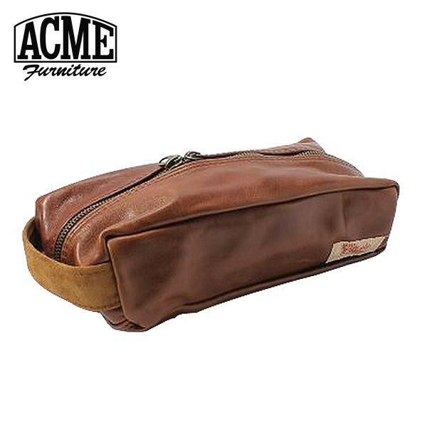 アクメファニチャー ACME Furniture BOX CASE CHESUNUT レザーボックスケース チェスナット 幅26cm【送料無料】