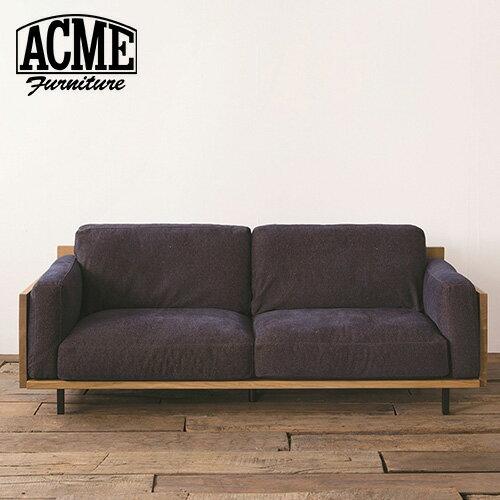 アクメファニチャー ACME Furniture CORONADO SOFA 3P W2110 カノアBK コロナド ソファ W2110 カノアBK 幅211cm ブラック ソファ ソファー 3人掛け【送料無料】