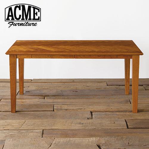 ACME Furniture アクメファニチャー WARNER DINING TABLE HERRINGBONE ワーナー ダイニングテーブル ヘリンボーン 160cm テーブル ダイニングテーブル【ポイント10倍】