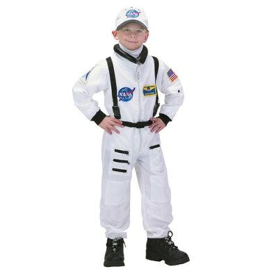 【通常便なら送料無料】宇宙飛行士 (白) 子ども用コスチューム【RCPapr28】