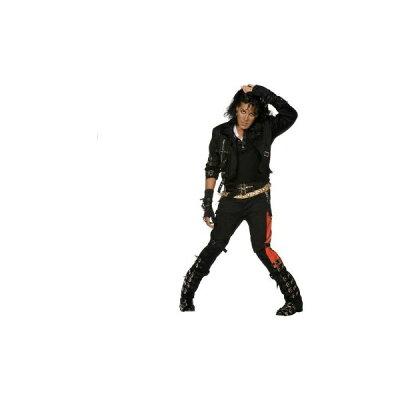 【通常便なら送料無料】【エントリーでポイント10倍】マイケル・ジャクソン Bad コスチューム...