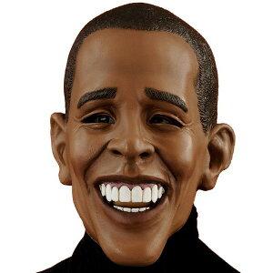 【通常便なら送料無料】デラックス・バラック・オバマ 大人用マスクハロウィン 雑貨 グッズ デ...