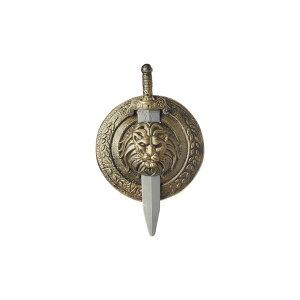 グラディエーターコンバットシールド(盾)とソード(剣)のセット/GladiatorCombatShieldandSword