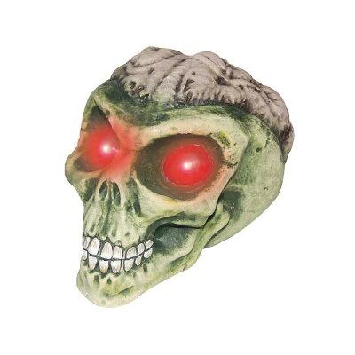 【通常便なら送料無料】頭蓋骨 宇宙人 エイリアンスカル ライトアップ
