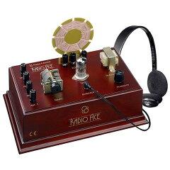 【通常便なら送料無料】サイエンス・トイ 科学の学習おもちゃ Radio Ace - Vintage Radio Kit入...